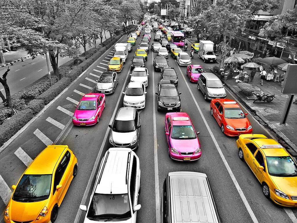 voitures couleurs